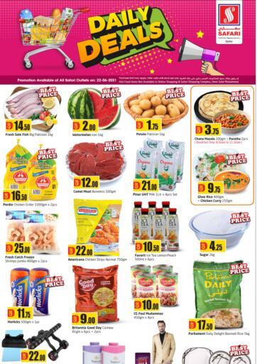 Qatar - Al-Shahaniya Safari Hypermarket offers in D4D Online. Daily Deals. . Only on 22nd June