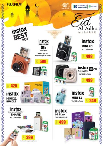 Qatar - Al-Shahaniya Techno Blue offers in D4D Online. Create EID memories with Instax. Now its time to shop from Techno Blue. Get Create EID memories with Instax  offers and get your products at great discounts. Offers valid Till 31st July.   Hurry Up!!!!!. Till 31st July