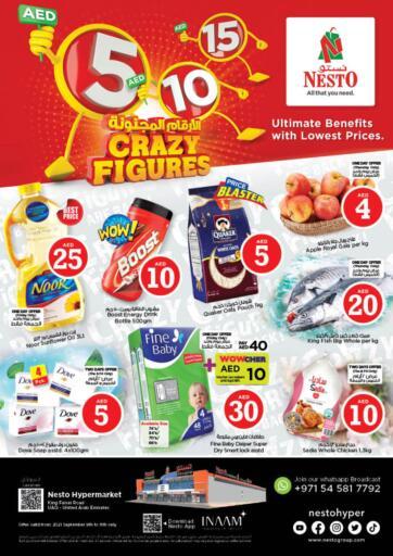 UAE - Dubai Nesto Hypermarket offers in D4D Online. Umm Al Quwain. . Till 11th September