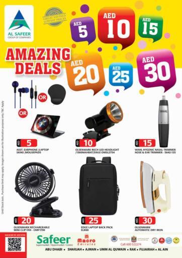 UAE - Sharjah / Ajman Safeer Hyper Markets offers in D4D Online. Amazing Deals. . Till 15th September