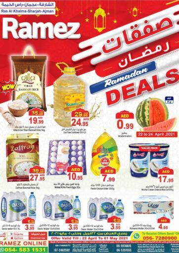 UAE - Ras al Khaimah Aswaq Ramez offers in D4D Online. Ramadan Deals. . Till 1st May