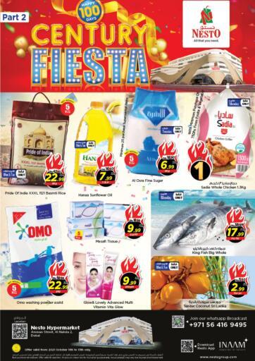 UAE - Sharjah / Ajman Nesto Hypermarket offers in D4D Online. Al Nahda 2, Dubai. . Till 13th October