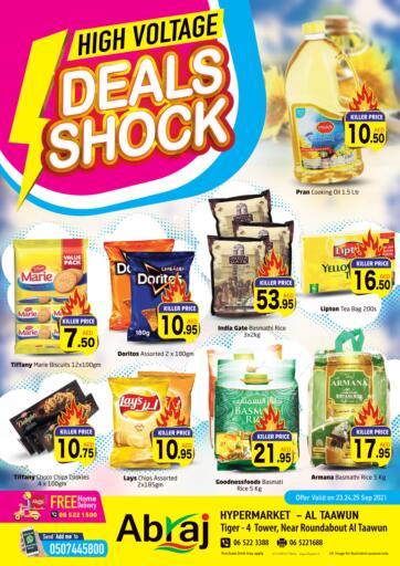 UAE - Sharjah / Ajman Abraj Hypermarket offers in D4D Online. Deals Shock @Al Taawun. . Till 25th September