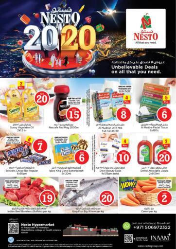 UAE - Sharjah / Ajman Nesto Hypermarket offers in D4D Online. Al Raqayyeb,Al Hamdiya ,Ajman. . Till 23rd October