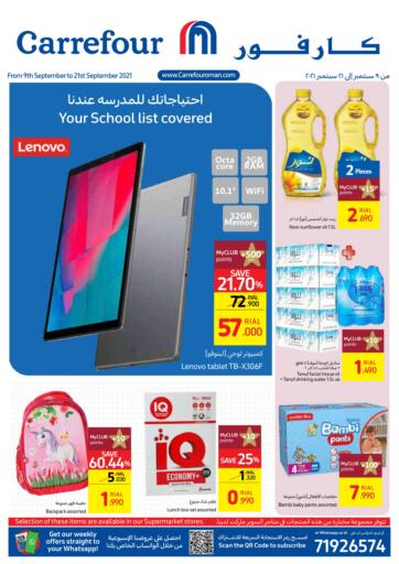 Oman - Sohar Carrefour offers in D4D Online. Back To School. Back To School Offer Now At Your Near By Carrefour Market.Offer Valid Till 21st October.Hurry To Grab Yourss...!!!!. Till 21st September