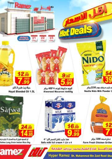 UAE - Sharjah / Ajman Aswaq Ramez offers in D4D Online. Hot Deals. . Till 23rd October