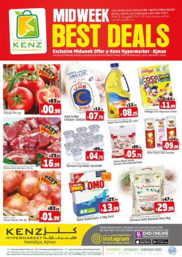 UAE - Sharjah / Ajman Kenz Hypermarket offers in D4D Online. Midweek Best Deals. Midweek Best Deals!!! Offers Going On For  Fresh Foods, Groceries, Home Needs, Fashion, Electronics, Appliances & Many More. Get your favorite products at the best prices from Kenz Hypermarket. Buy More Save More! .  Offer Valid Till Stock Last. Happy Shopping!!!. Start Shopping!!!! . Until Stock Last
