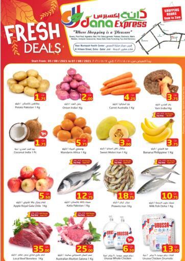 Qatar - Al Daayen Dana Express offers in D4D Online. Fresh Deals. . Till 7th August