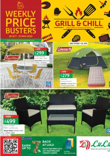 UAE - Ras al Khaimah Lulu Hypermarket offers in D4D Online. Grill & Chill. Grill & Chill  At Lulu Hypermarket. Purchase your favorites during this amazing Offer time!! Offers Going For Home Needs, Grilling Items & Accessories, Electrical Items, Beauty Products, Furniture, Fashion etc Everything Under One Roof ! Offer is valid till  10th November Start Shopping!. Till 10th November