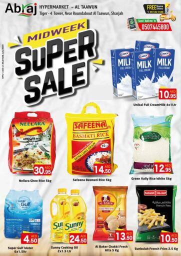 UAE - Sharjah / Ajman Abraj Hypermarket offers in D4D Online. Midweek Super Sale. . Till 28th July