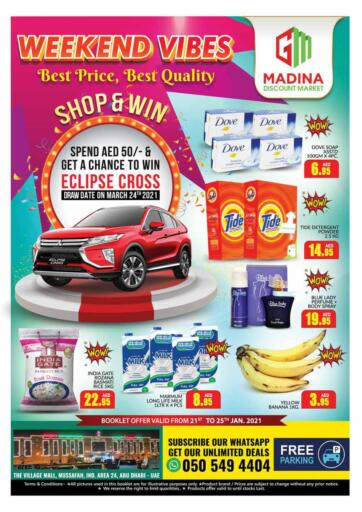 UAE - Dubai Azhar Al Madina Hypermarket offers in D4D Online. Weekend Vibes.