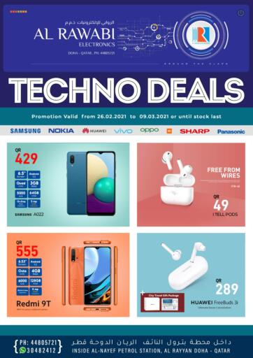 Qatar - Doha Al Rawabi Electronics offers in D4D Online. Techno Deals. . Until Stock Last