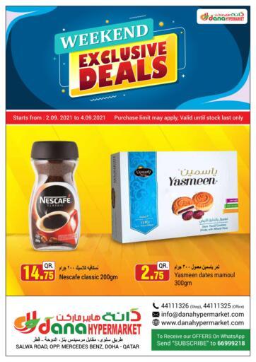 Qatar - Al Wakra  Dana Hypermarket offers in D4D Online. Weekend Exclusive Deals. . Till 4th September