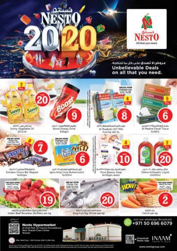 UAE - Sharjah / Ajman Nesto Hypermarket offers in D4D Online. Al Arab Mall ,Sharjah. . Till 23rd October