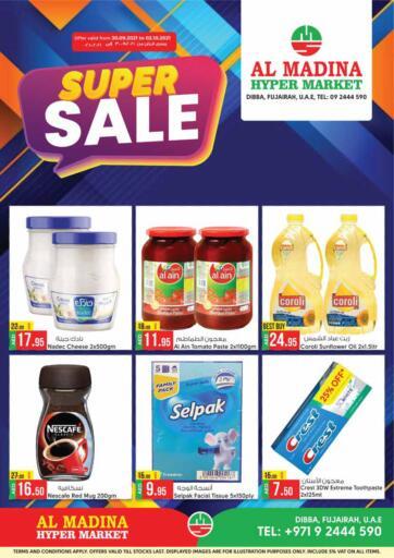 UAE - Fujairah Al Madina Supermarket LLC offers in D4D Online. Dibba, Fujairah. . Till 2nd October