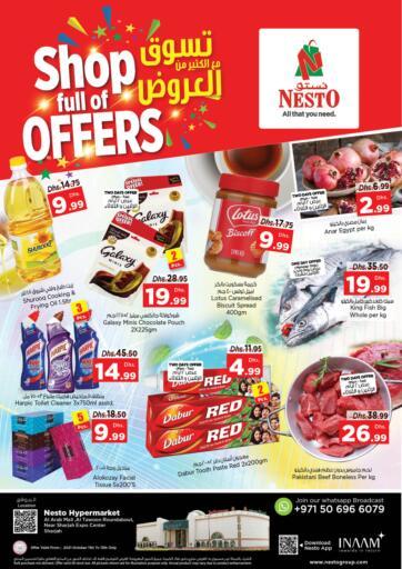 UAE - Fujairah Nesto Hypermarket offers in D4D Online. Al Arab Mall, Sharjah. . Till 13th October