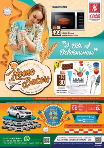UAE - Dubai Safari Hypermarket  offers in D4D Online. Home Bakers!. . Till 22nd December