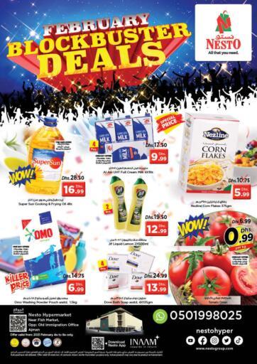 UAE - Ras al Khaimah Nesto Hypermarket offers in D4D Online. Mushrif, Ajman.