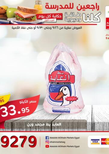 Egypt - Cairo Othaim Market   offers in D4D Online. Back to School. . Till 30th September