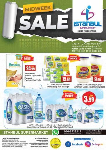 UAE - Dubai Istanbul Supermarket offers in D4D Online. Midweek Sale. . Till 2nd February