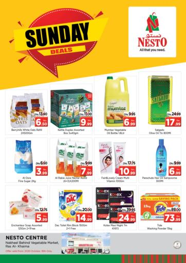 UAE - Ras al Khaimah Nesto Hypermarket offers in D4D Online. Ras Al Khaima. . Only On 18th October