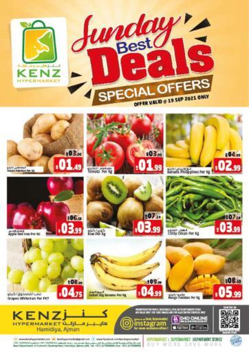 UAE - Sharjah / Ajman Kenz Hypermarket offers in D4D Online. Sunday Best Deals. . Only On 19th September