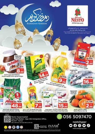 UAE - Sharjah / Ajman Nesto Hypermarket offers in D4D Online. Mushrif, Ajman. . Till 21st April