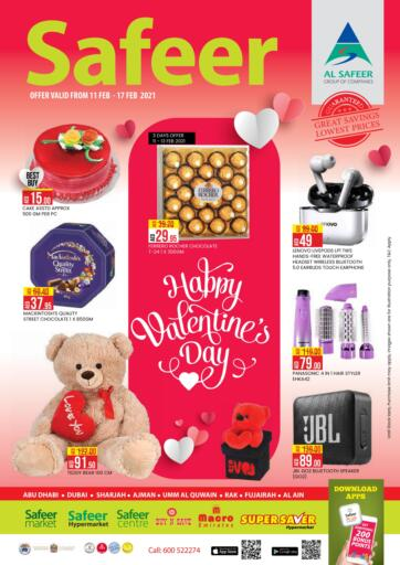 UAE - Abu Dhabi Safeer Hyper Markets offers in D4D Online. Valentine Offers.