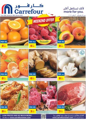 Oman - Salalah Carrefour offers in D4D Online. Weekend Offer. . Till 30th January