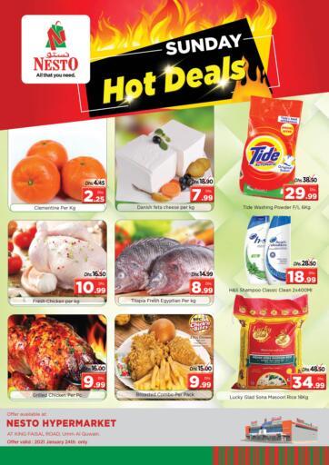 UAE - Umm al Quwain Nesto Hypermarket offers in D4D Online. Umm Al Quwain. . Only on 24th January