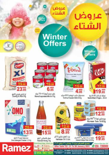 UAE - Abu Dhabi Aswaq Ramez offers in D4D Online. Winter Offers. Winter Offers At Aswaq Ramez, Offers Going On For  Fresh Foods, Groceries & Selected Items. Grab Your Favorites At Low Price.  Offer Valid Till 26th January. Happy Shopping!!!. Till 26th January