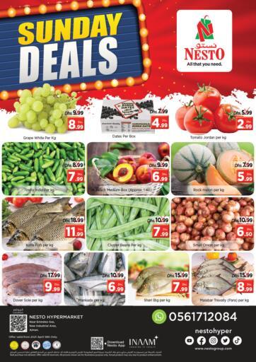 UAE - Sharjah / Ajman Nesto Hypermarket offers in D4D Online. New Industrial Area- Ajman. . Only On 18th April