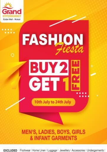 Qatar - Al-Shahaniya Grand Hypermarket offers in D4D Online. Buy 2 Get 1 free. . Till 24th July