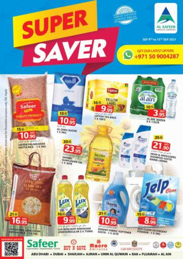 UAE - Sharjah / Ajman Safeer Hyper Markets offers in D4D Online. Super Saver. Super Saver Offer Exclusively Available At Safeer Hyper Market. Offer Valid Till 15th September 2021.  Enjoy Shopping!!!. Till 15th September