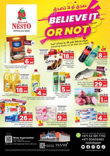 UAE - Dubai Nesto Hypermarket offers in D4D Online. Umm Al Quwain. . Till 18th September