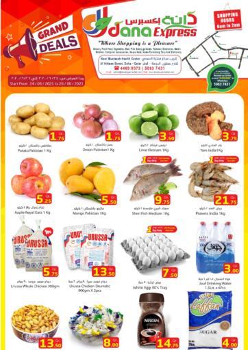 Qatar - Al-Shahaniya Dana Express offers in D4D Online. Grand Deals. . Till 26th June