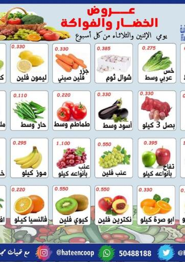 Kuwait Hateen Co-Op Society offers in D4D Online. Fruits & Vegetables Offer. . Till 4th May
