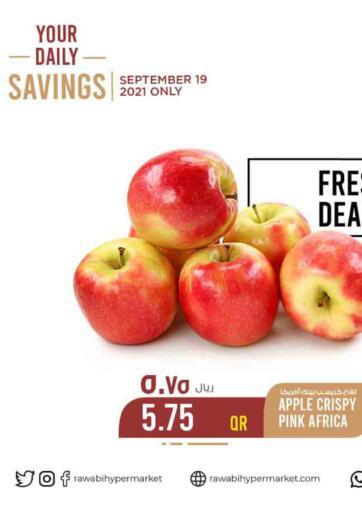 Qatar - Al Rayyan Rawabi Hypermarkets offers in D4D Online. Fresh Deals. . Only On 19th Septmeber