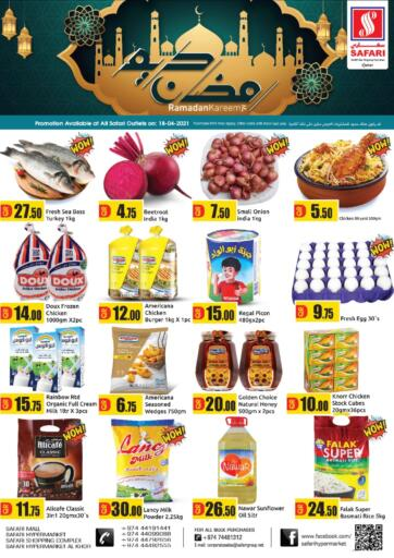 Qatar - Al Daayen Safari Hypermarket offers in D4D Online. One Day Offer. . Only On 18th April
