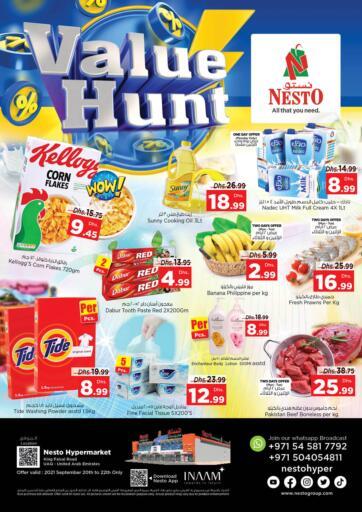 UAE - Dubai Nesto Hypermarket offers in D4D Online. Umm Al Quwain. . Till 22nd September