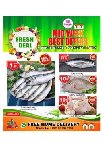 UAE - Sharjah / Ajman Rawabi Market Ajman offers in D4D Online. Midweek Offers. . Till 9th March