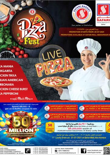 Qatar - Al-Shahaniya Safari Hypermarket offers in D4D Online. Pizza Fest. . Until Stock Lasts