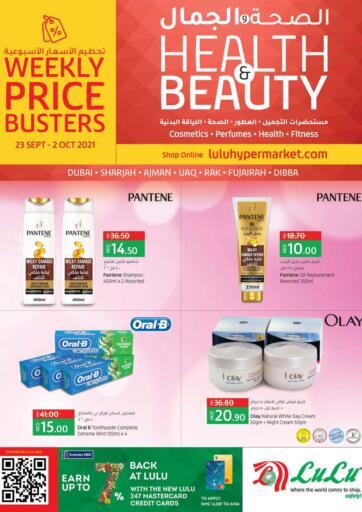 UAE - Sharjah / Ajman Lulu Hypermarket offers in D4D Online. Health & Beauty. . Till 02nd October