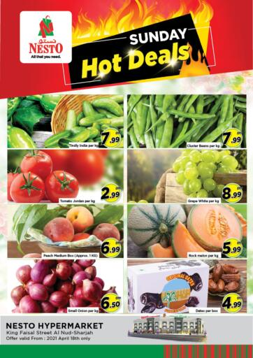 UAE - Sharjah / Ajman Nesto Hypermarket offers in D4D Online. King Faisal, Sharjah. . Only On 18th April