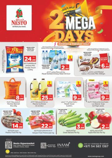 UAE - Sharjah / Ajman Nesto Hypermarket offers in D4D Online. Al Bada'a, Satwa ,Dubai. . Till 19th October