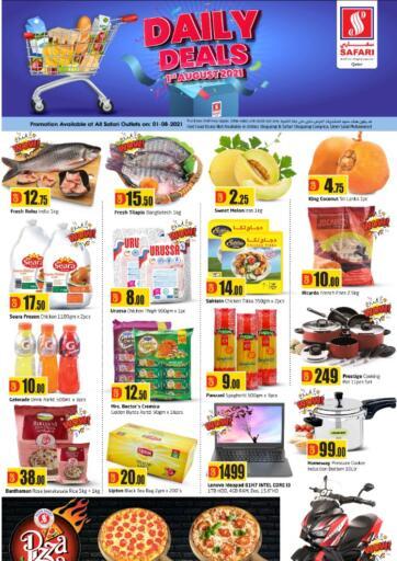 Qatar - Al-Shahaniya Safari Hypermarket offers in D4D Online. Daily Deals. . Only On 01st August