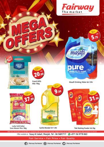 UAE - Sharjah / Ajman Fairway The Market offers in D4D Online. Mega Offer. . Till 27th February