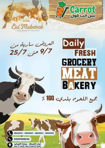 Egypt - Cairo Carrot offers in D4D Online. Daily Fresh. . Till 25th July