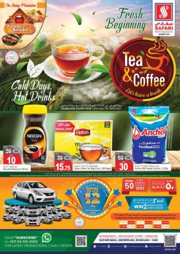 UAE - Dubai Safari Hypermarket  offers in D4D Online. Tea & Coffee. . Till 19th January