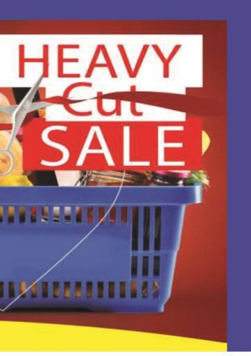 Egypt - Cairo El Fergany Hyper Market   offers in D4D Online. Heavy Cut Sale. . Till 20th February